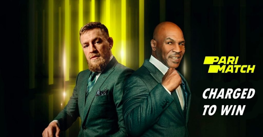 Mike Taison and Conor McGregor for PariMatch